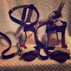 Shoes - 3/$45 Strappy  heels 👠